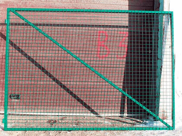 металлическая решетка для забора